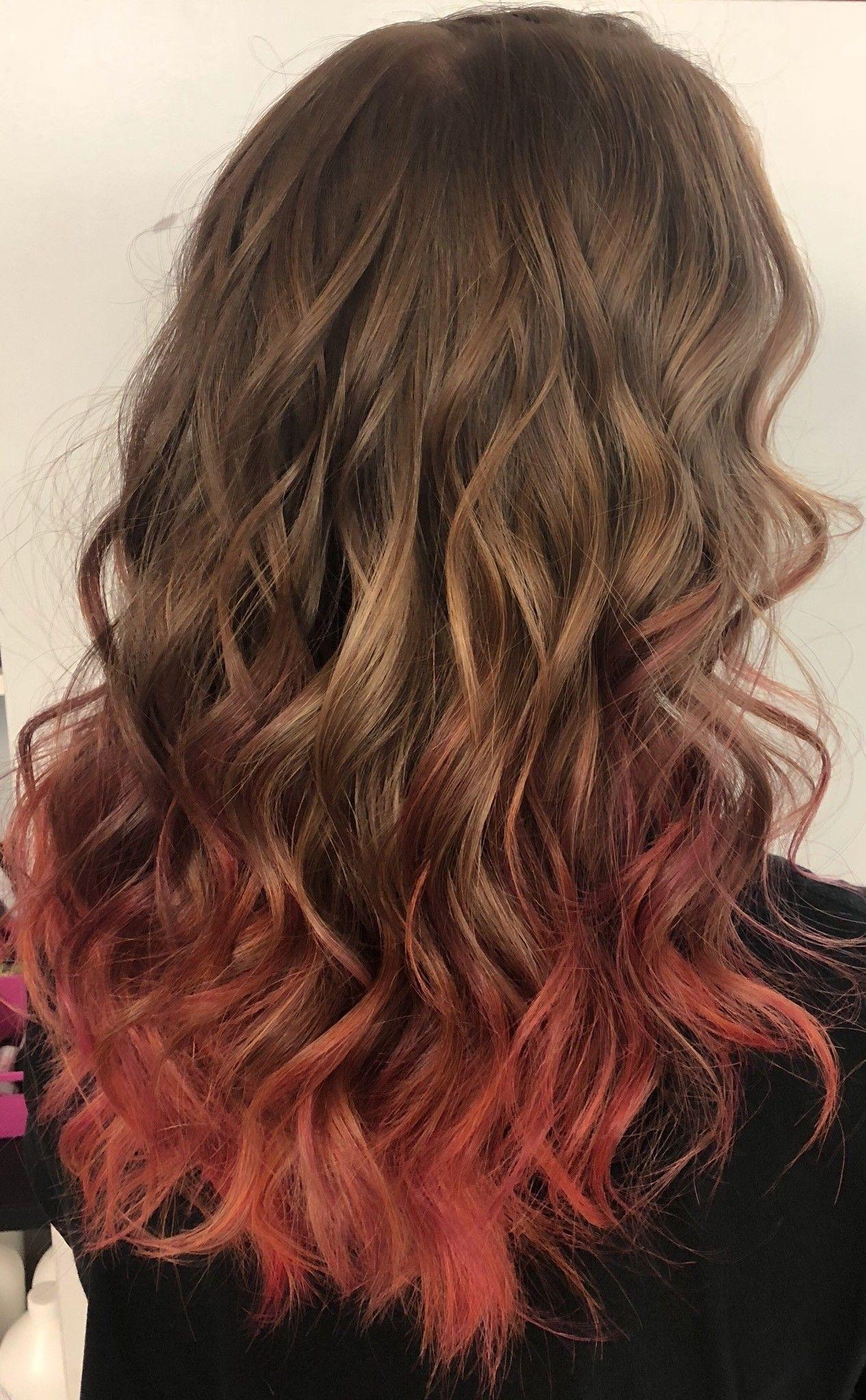 Natural Red Hair With Fashion Colors Natural Red Hair Hair Orange Hair