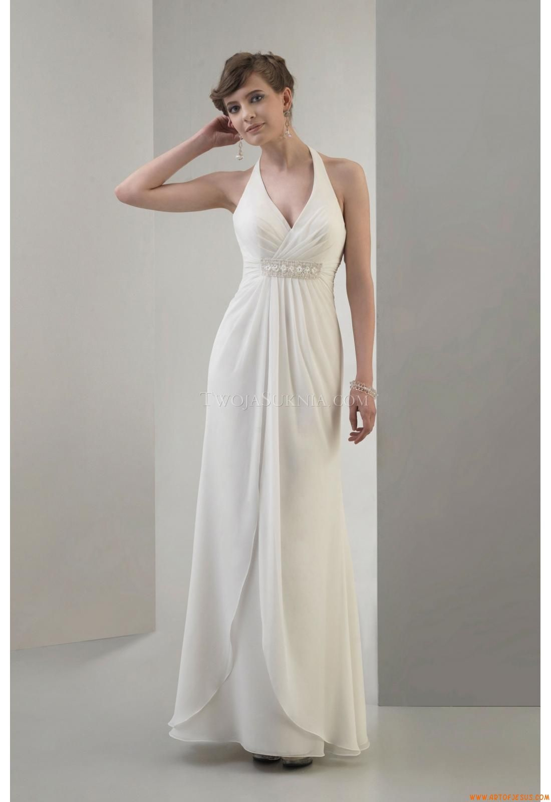 Elegant Halter Wedding Dress China Venus VN6679 Venus Informal 2011 ...