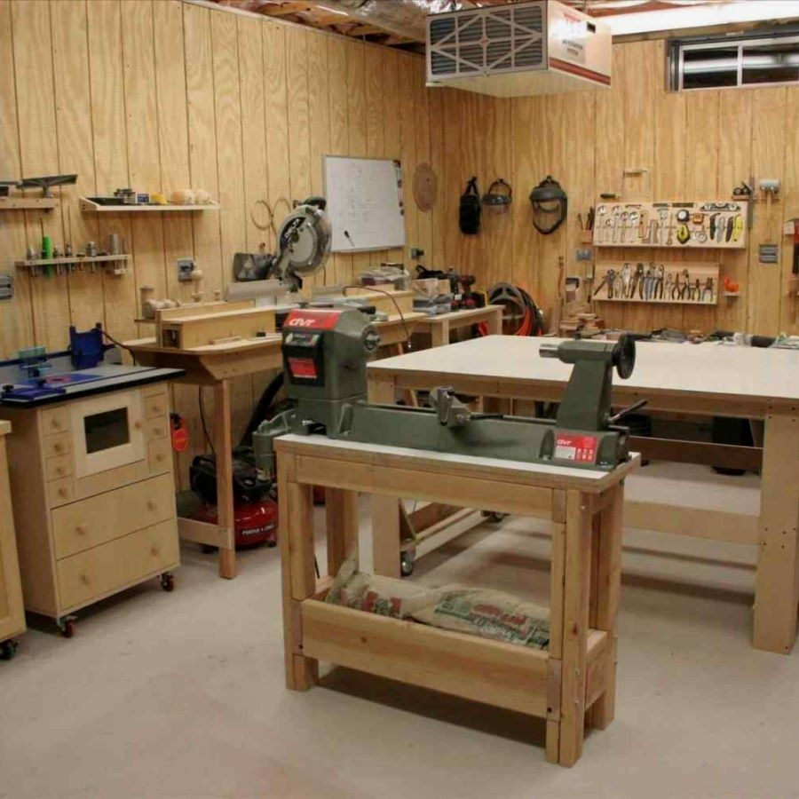 12 Woodworking Shop Plans Design No 13696s Small Woodworking Shop Designs For Garage Spaces Woodshop Pla Woodworking Shop Layout Shop Layout Garage Woodshop
