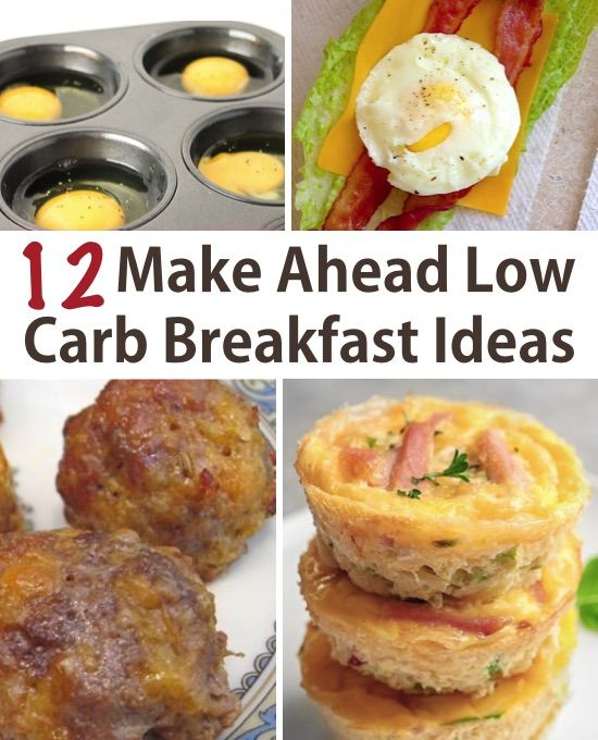 Keto Low Carb Breakfast Ideas (easy and make ahead) images