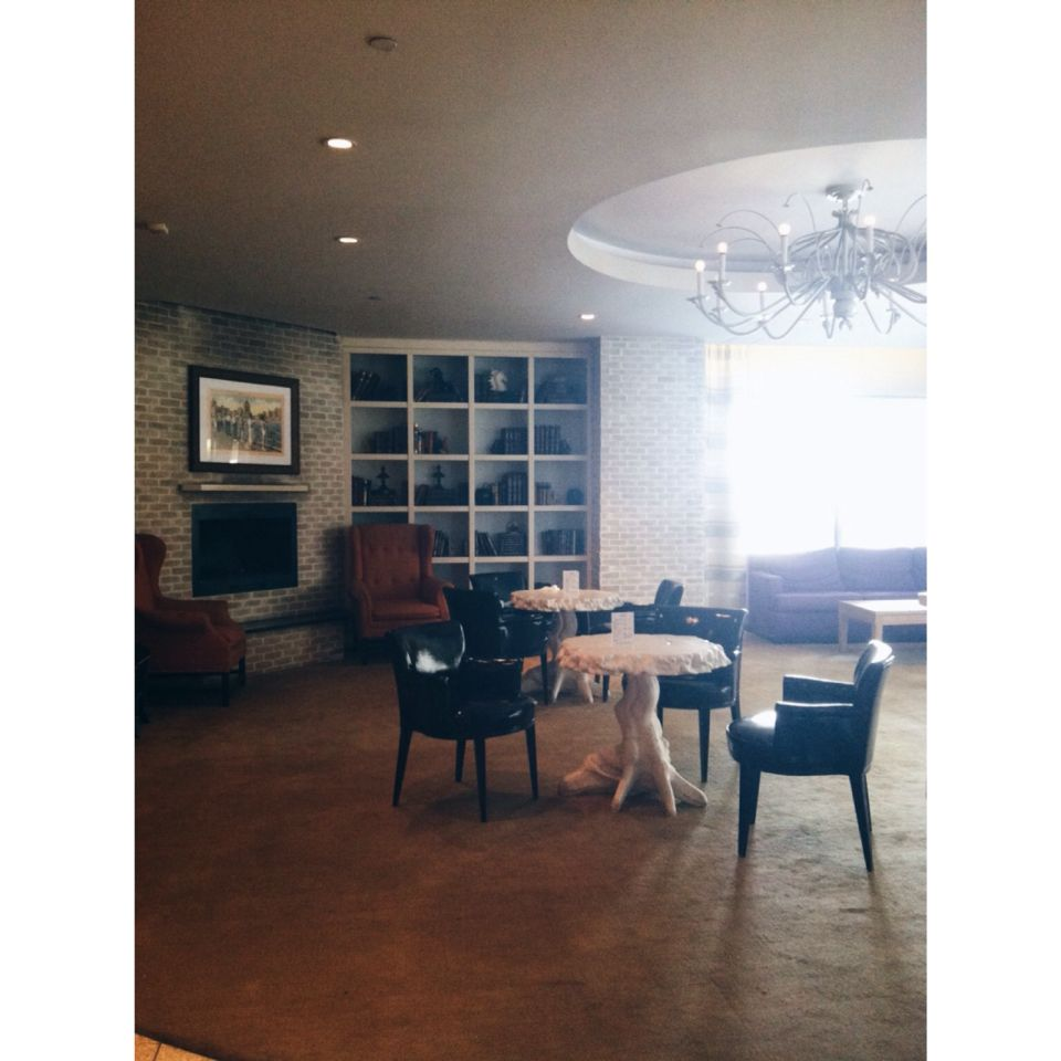 Hotel lobby //