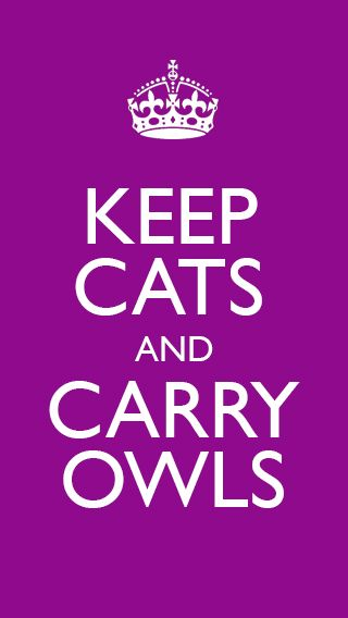 Keep cats, Carry Owls