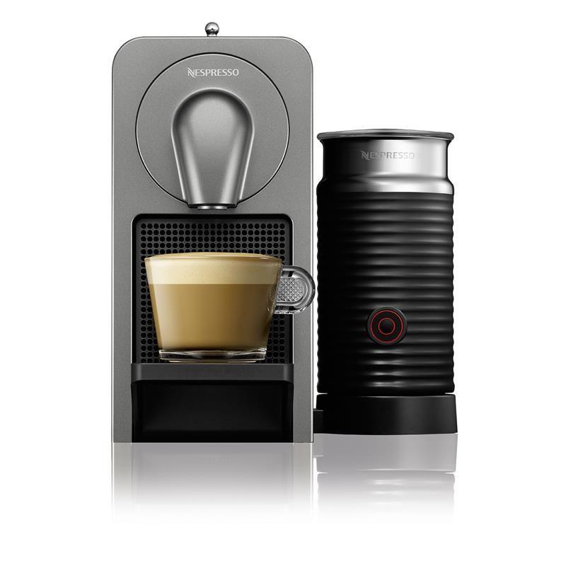 Breville Nespresso Prodigio & Milk Connected Coffee Machine (Titan ...