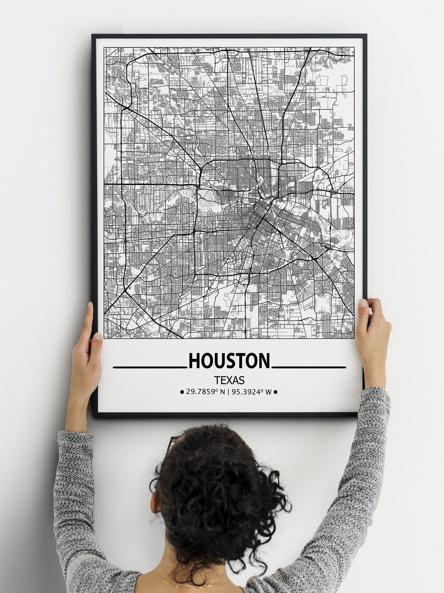 Pin On City Map Poster
