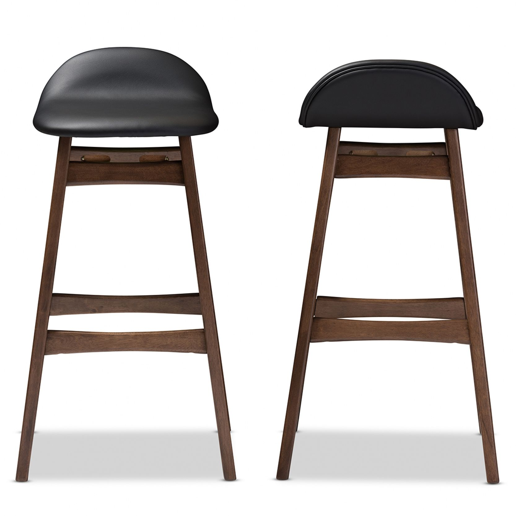 50 30 Inch Leather Bar Stools Contemporary Modern Furniture