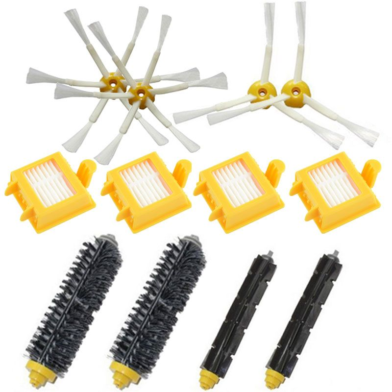 Accessories For iRobot Roomba 500 600 700 Series Replacement Kit 529 650 660 760 770 780 790 Irobot Roomba Serie 500 Filters and Brushes