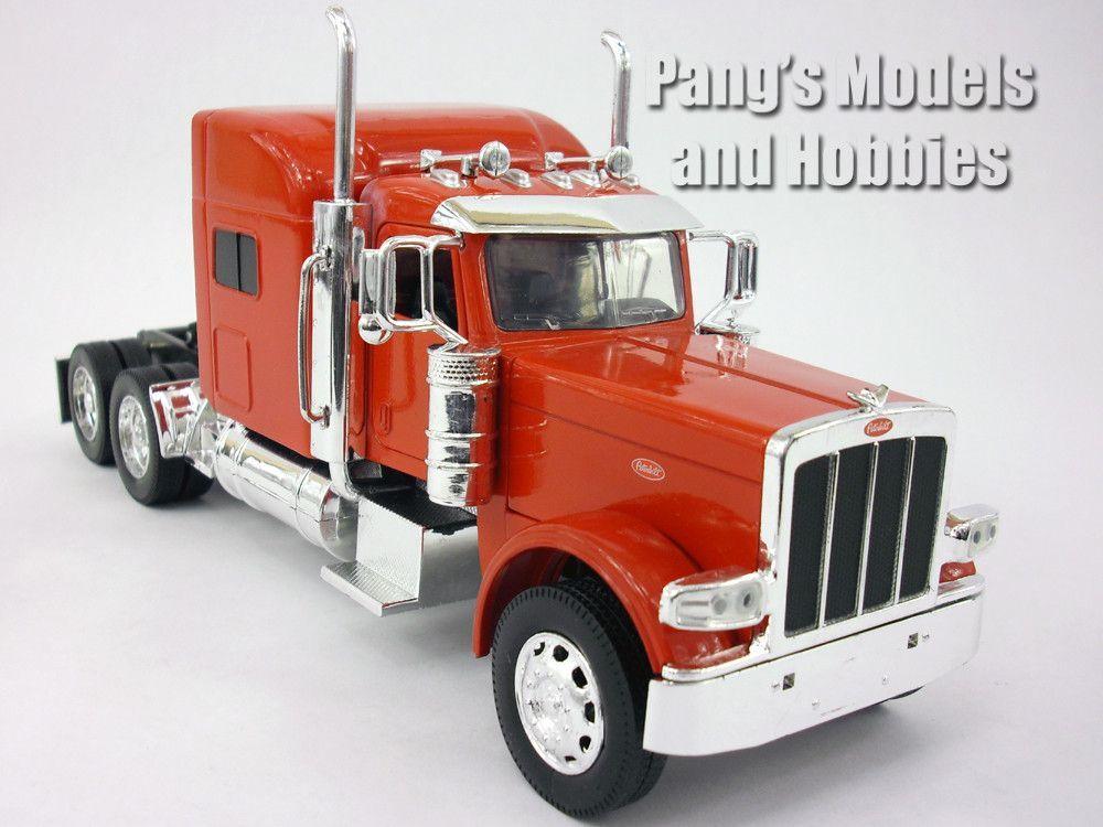 Peterbilt Model Semi Truck Die Cast Metal Scale Model By