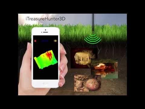 TreasureHunter 3D metal detector that makes underground