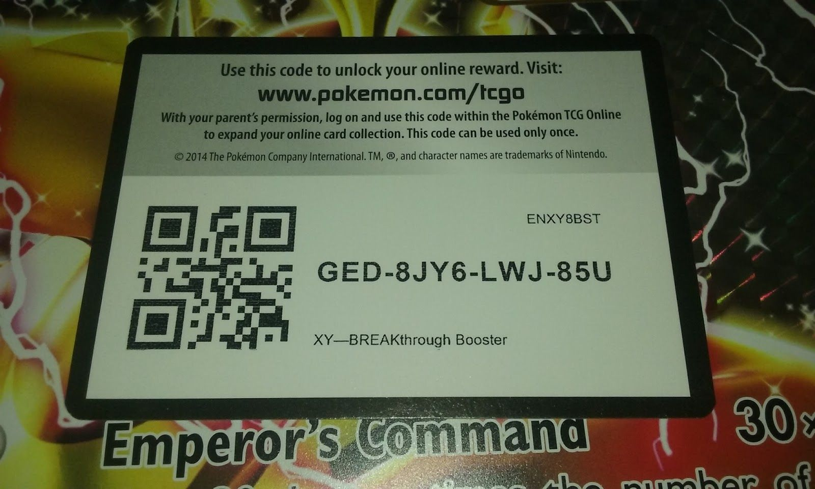 Free Pokémon TCGO Game Codes | Free Pokemon TCGO Game Codes
