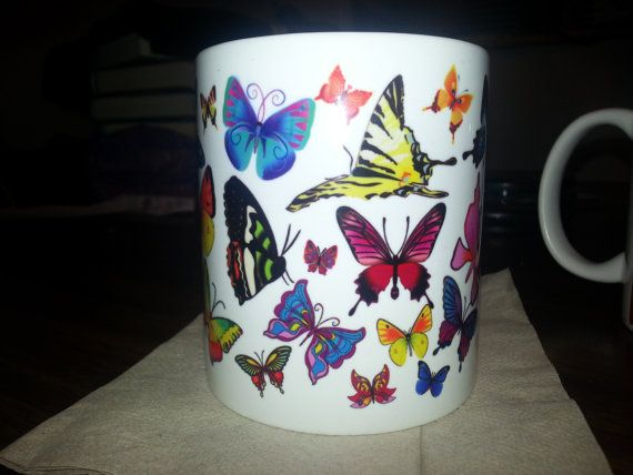 Hey, I found this really awesome Etsy listing at https://www.etsy.com/listing/230067360/beautiful-colorful-butterfly-mug