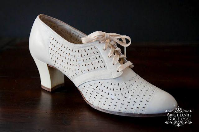1930's shoes.   Nursing shoes, Bags