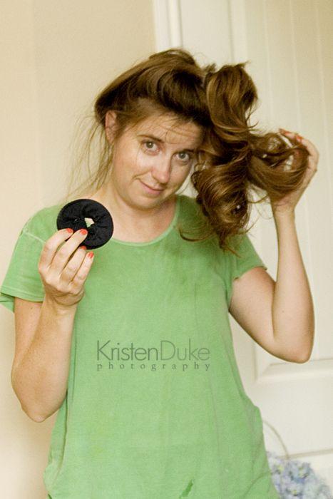 Sock bun curls~No heat! - Capturing Joy with Kristen Duke