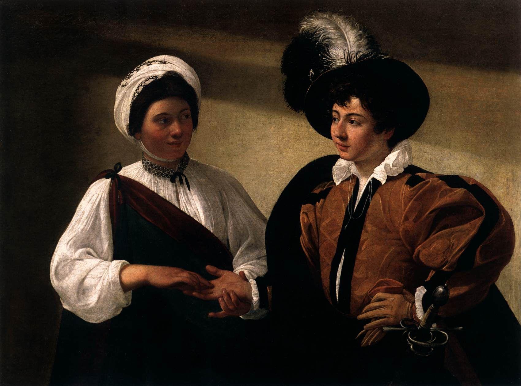 Resultado de imagen de Caravaggio La buenaventura