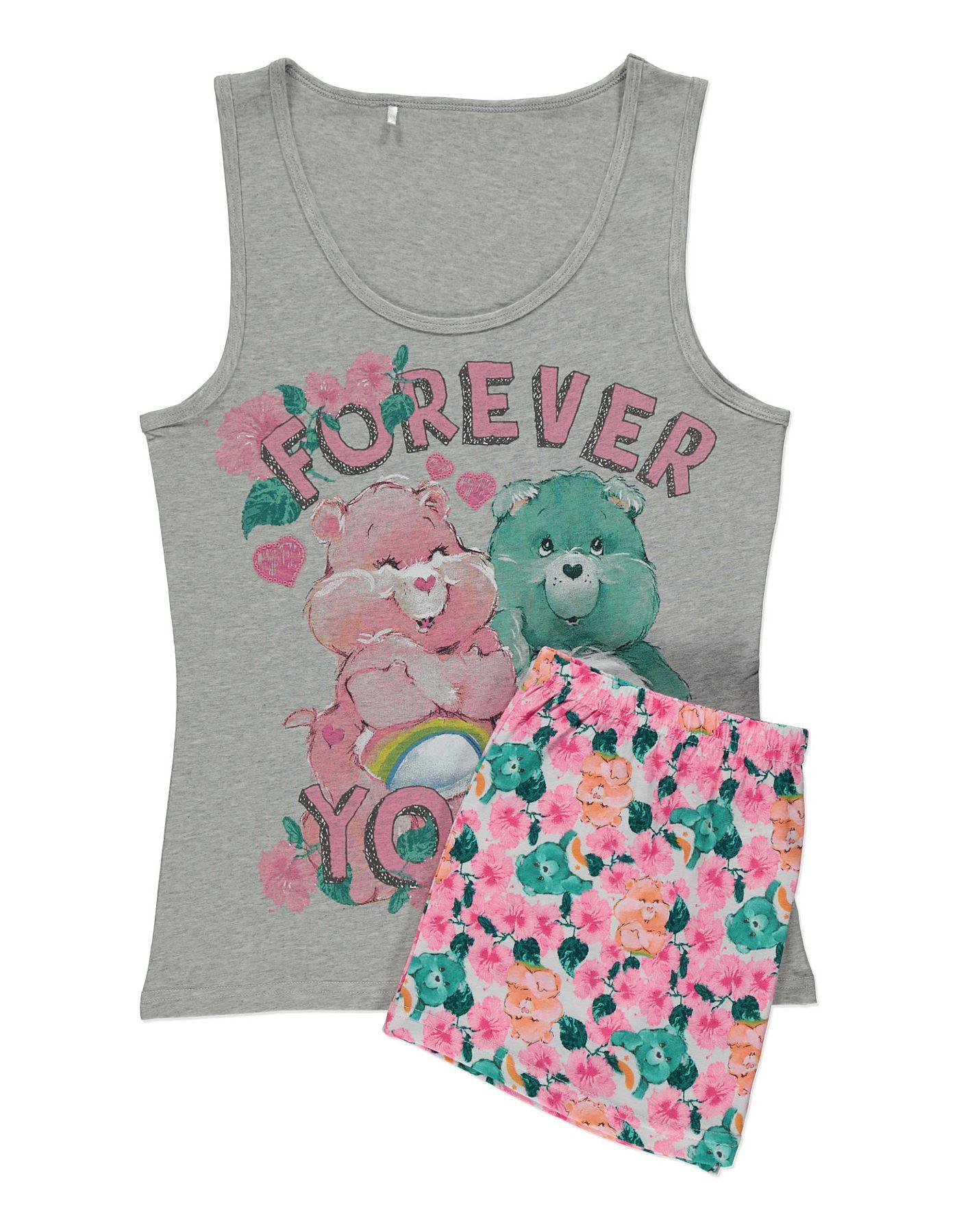 Care Bears Forever Yours Pyjamas Women at ASDA
