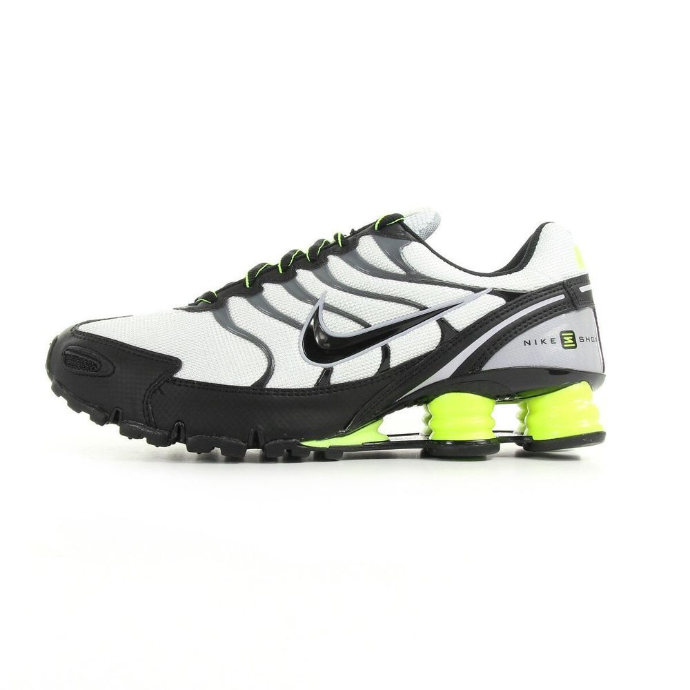 pretty nice 53243 8a271 ... black yellow a44f5 c779d usa nike shox turbo vi sl 555341 007 new mens  white running casual shoes sneakers c72be ...