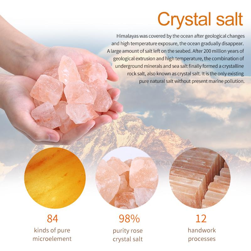 100 Pure Authentic Himalayan Crystal Rock Salt Lamps By Mind