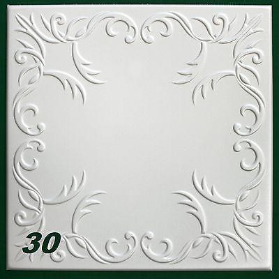 Details zu 30 m2 Deckenplatten Styroporplatten Stuck Decke Dekor - decke styroporplatten schnell sauber preiswert