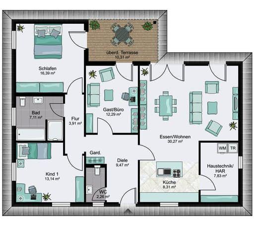 bungalow 2 floor plans 0 h user in 2018 pinterest grundrisse h uschen grundrisse und. Black Bedroom Furniture Sets. Home Design Ideas