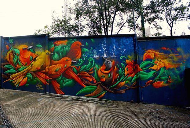 #HIDROC  La parvada   para Graffitiworld