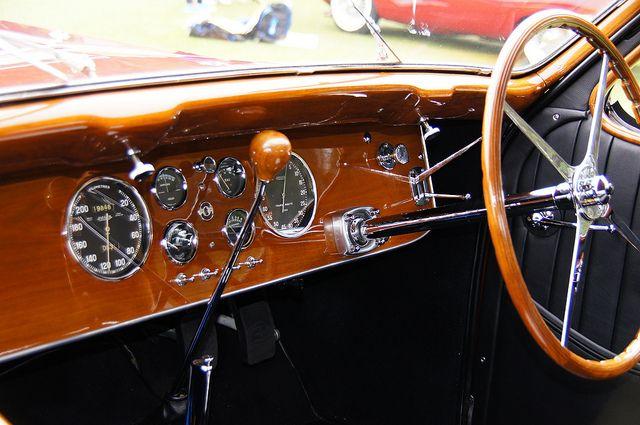 Bugatti Type Atalante Coupe Dash Bugatti Type Car