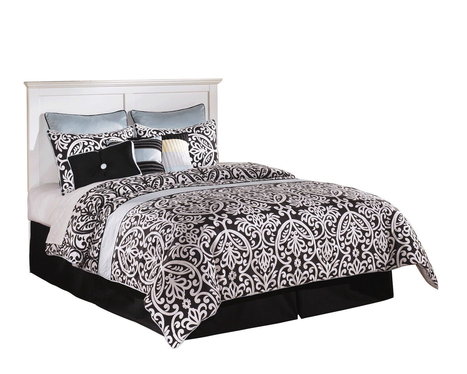 Ashley Bostwick Shoals 6 PC E King Panel Headboard Bedroom Set with ...