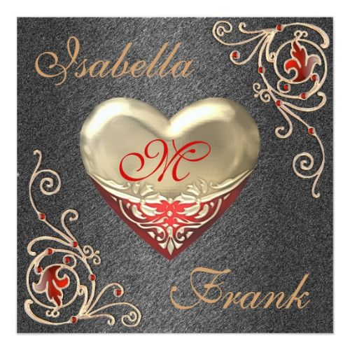 Valentine\u0027s Day Wedding Invitation Valentines Wedding Invitation