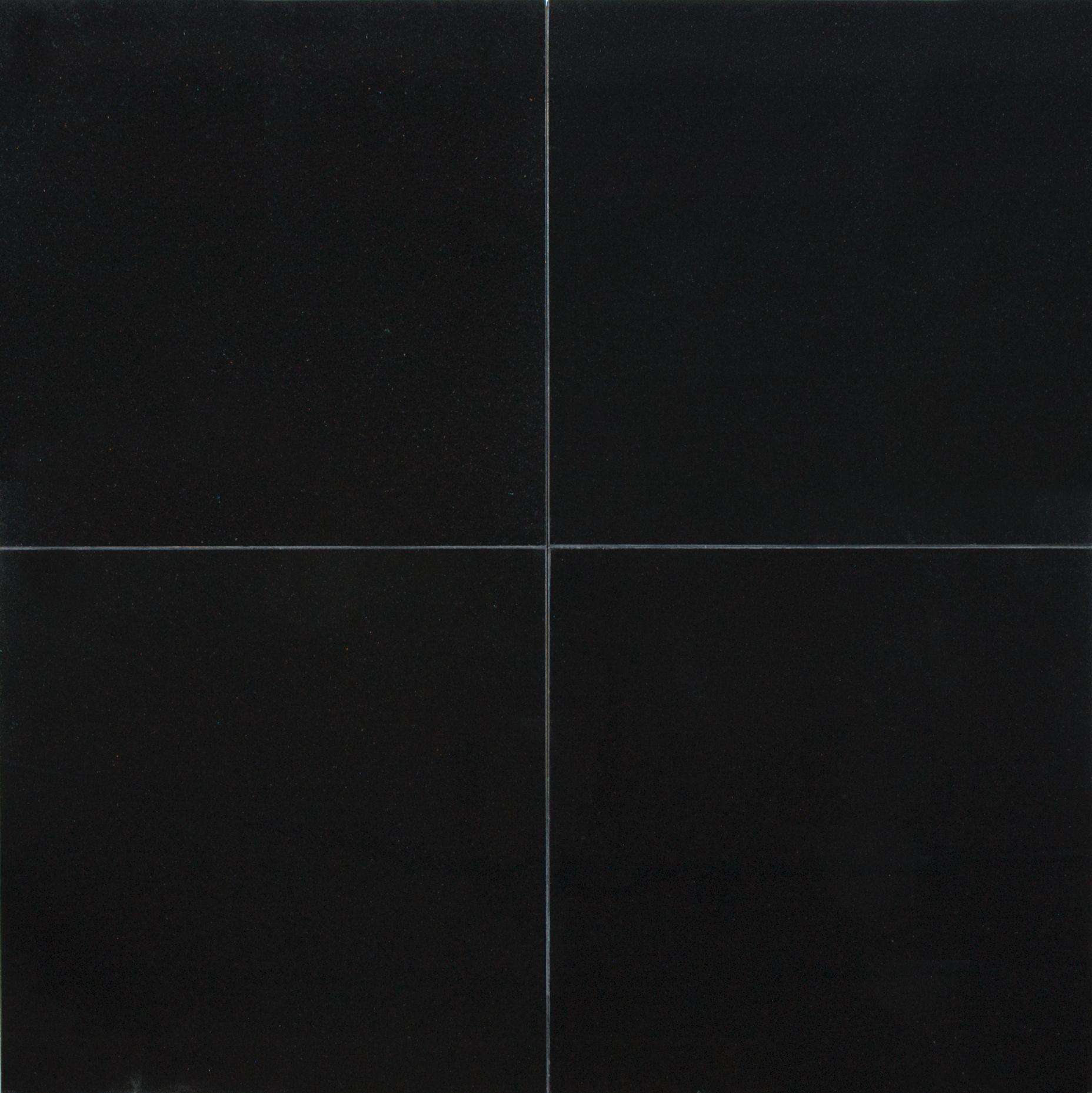 Anatolia Tile Absolute Black Granite Floor and Wall Tile mon 12
