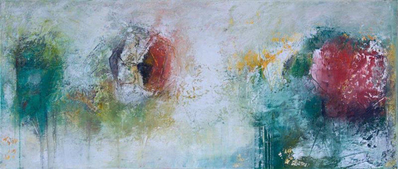 PETRA LORCH   ABSTRAKTE MALEREI   www.lorch-art.de Komposition 9.177 – 140×70 – Acryl auf Leinwand Petra Lorch   Freischaffende Künstlerin   mail@lorch-art.de