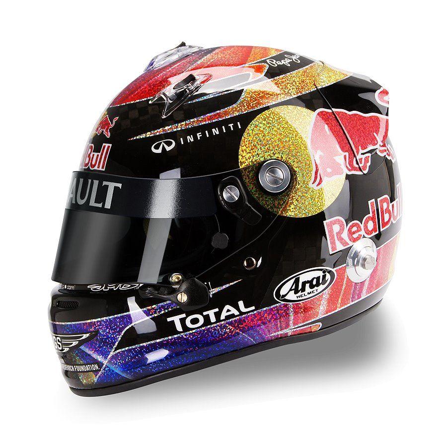 Arai GP-6 S.Vettel Abu Dhabi 2011 by Jens Munser Designs