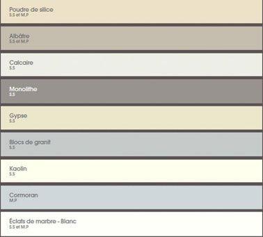 nuancier peinture murale th me falaises v33 les couleurs de peinture marier les couleurs et. Black Bedroom Furniture Sets. Home Design Ideas