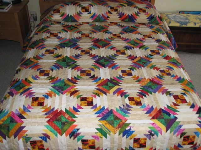 Perky Pineapple Quilt | Snowflake quilt, Craft and Block quilt : pineapple block quilt pattern - Adamdwight.com