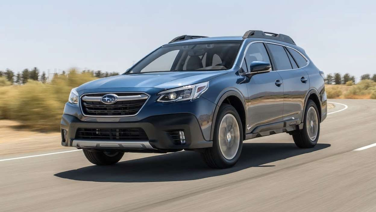 2020 Subaru Outback Limited 2 5 Liter First Test Review Subaru Outback Subaru Outback