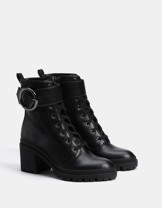 30 Fall Boots You Can Actually Walk In Boots Buckle Ankle Boots Lace Up High Heels