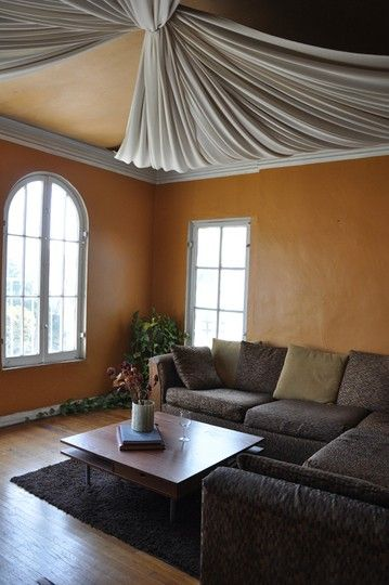 Ceiling Canopy Bedroom: How To Mask Popcorn Ceiling?