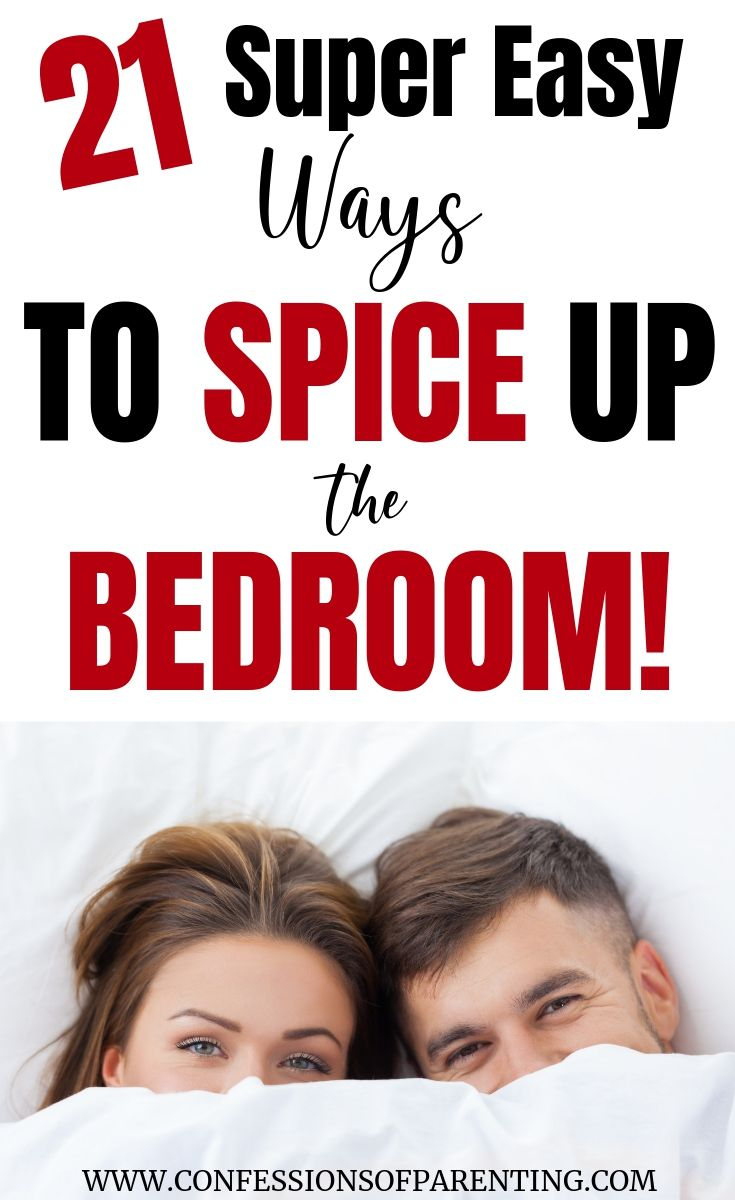 Ways To Spice Things Up In The Bedroom