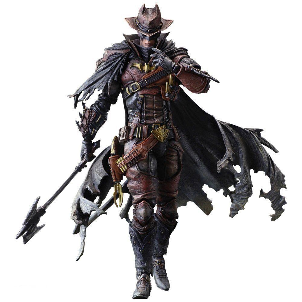 Dc Comics Variant Play Arts Kai Batman Timeless Sparta Square Enix CHINA VER.