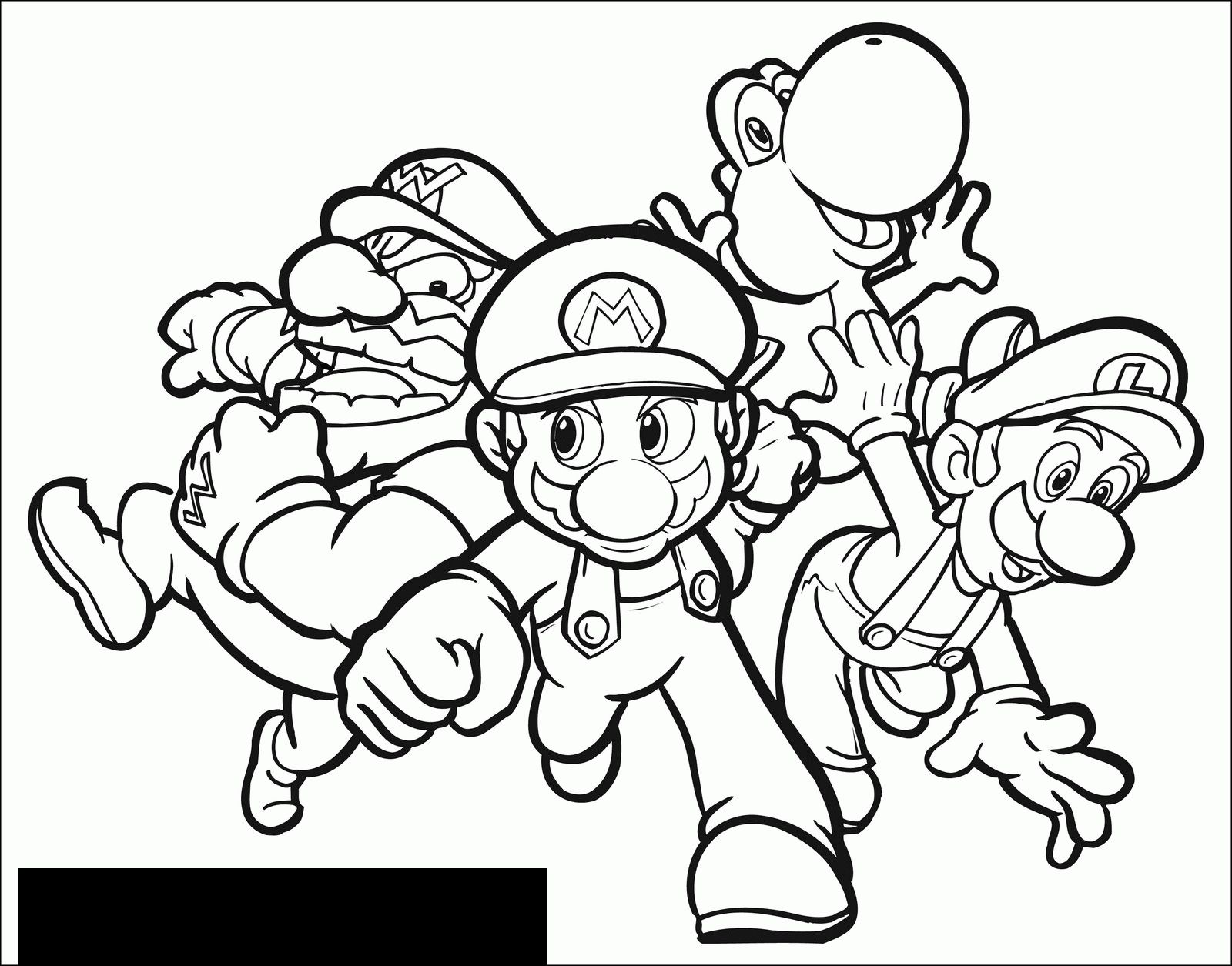 Super Mario Malvorlagen