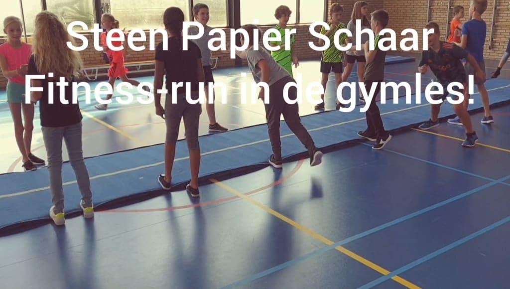 Steen Papier Schaar Fitness Run In De Gymles Groepsspellen Spelles Groepsspellen Runen Stenen