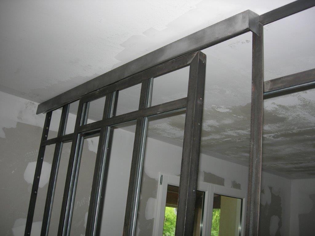 verri re int rieure avec porte coulissante brignais porte verri re coulissante windows. Black Bedroom Furniture Sets. Home Design Ideas