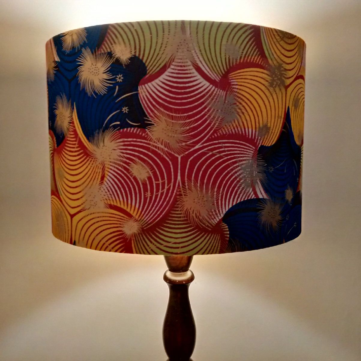 Tropical gold african lamp shade funke lampshade africans tropical gold african lamp shade funke lampshade aloadofball Choice Image