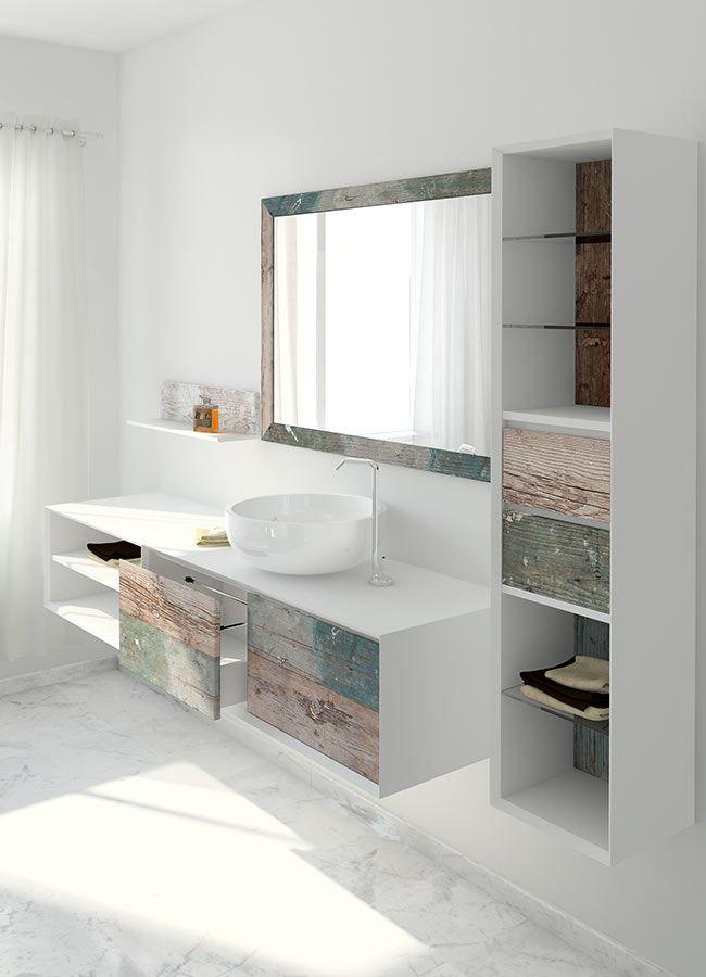 Bianchini & Capponi Collezione bagno Multicolor mobili