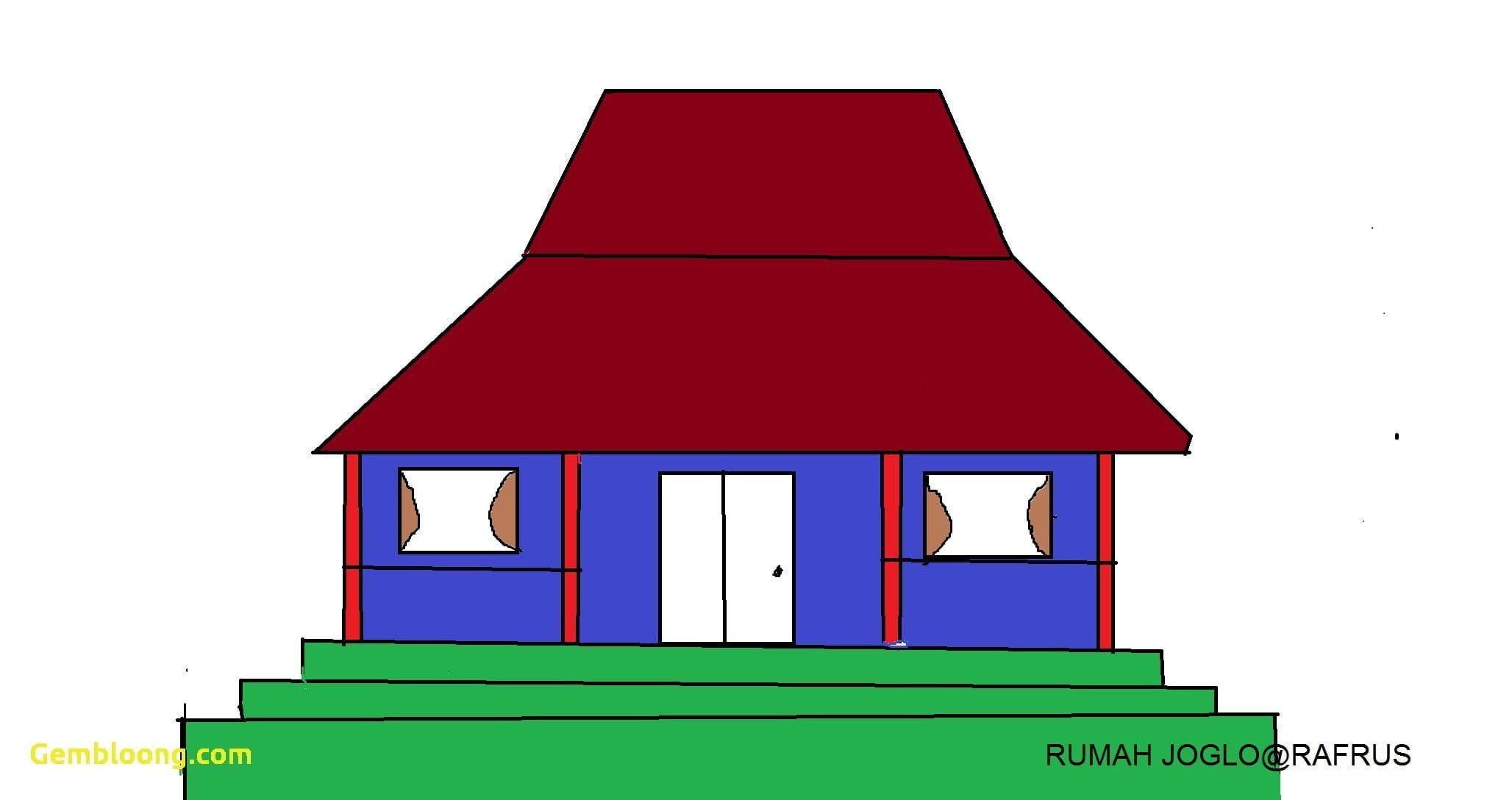 Gambar Kartun Rumah Adat
