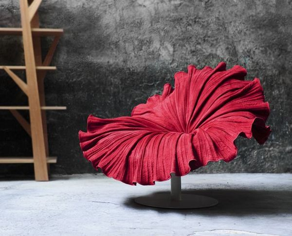 Wonderful Exceptional Flower Like Chair Design From Kenneth Cobonpuere: Bloom Chair |  Armchairs, Concrete Walls And Concrete Nice Ideas