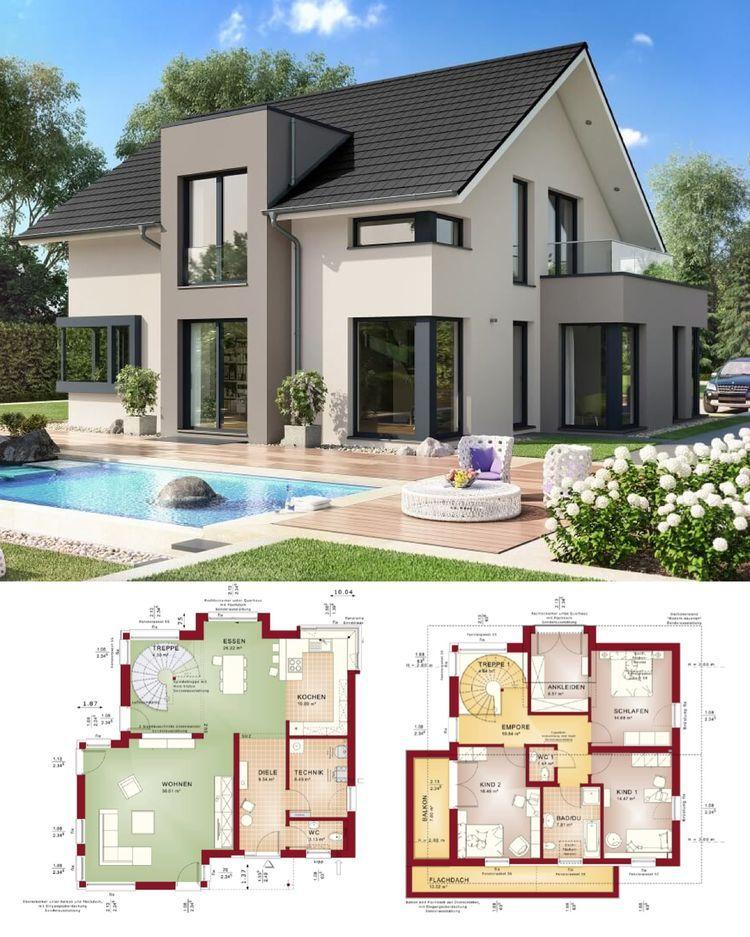 Fertighaus Concept M 159 Bad Vilbel Bien Zenker Hausbau
