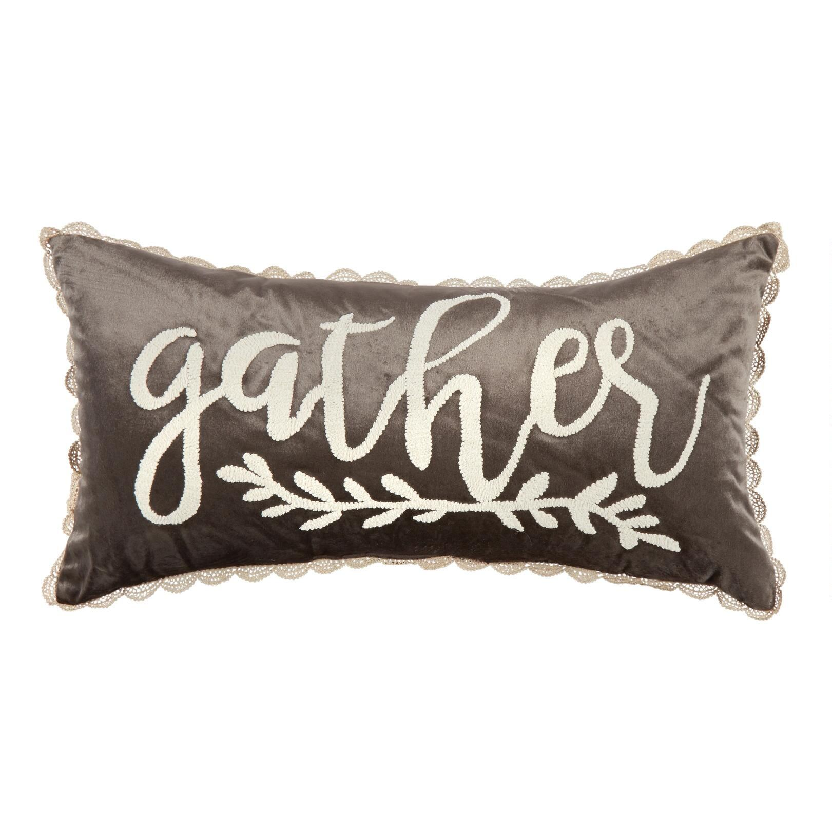 One Of My Favorite Discoveries At Christmastreeshops Com Oblong Throw Pillow Throw Pillows Christmas Throw Pillows