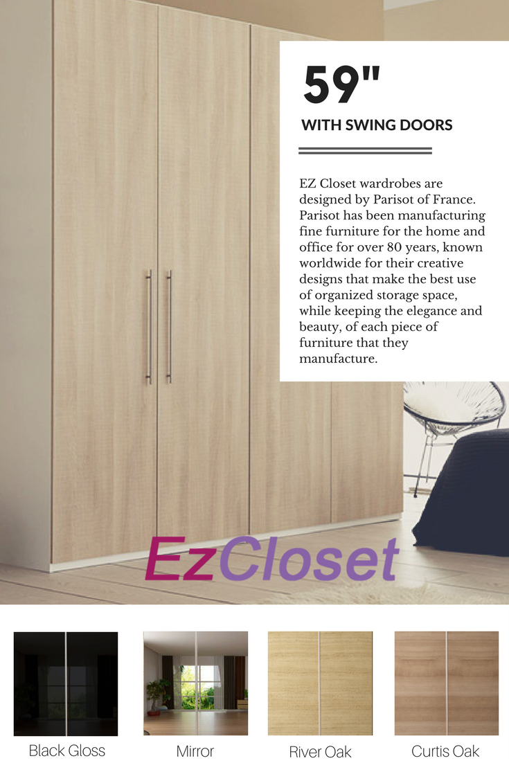 Armoire Promo Swing Doors You Can Choose From Solid Colors In White Matte