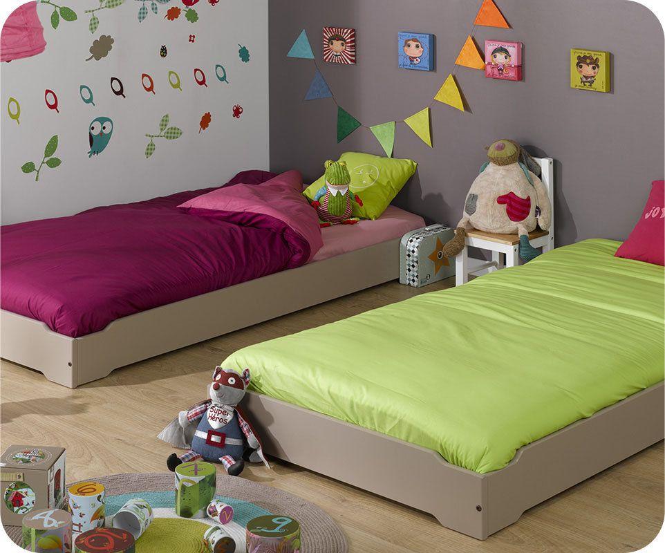 Cameretta montessori ~ Pequefelicidad: camas montessori decoración cuartos infantiles