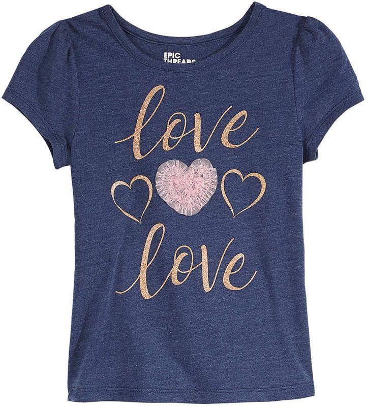 c2c04d264332 Epic Threads Toddler Girls Love T-Shirt