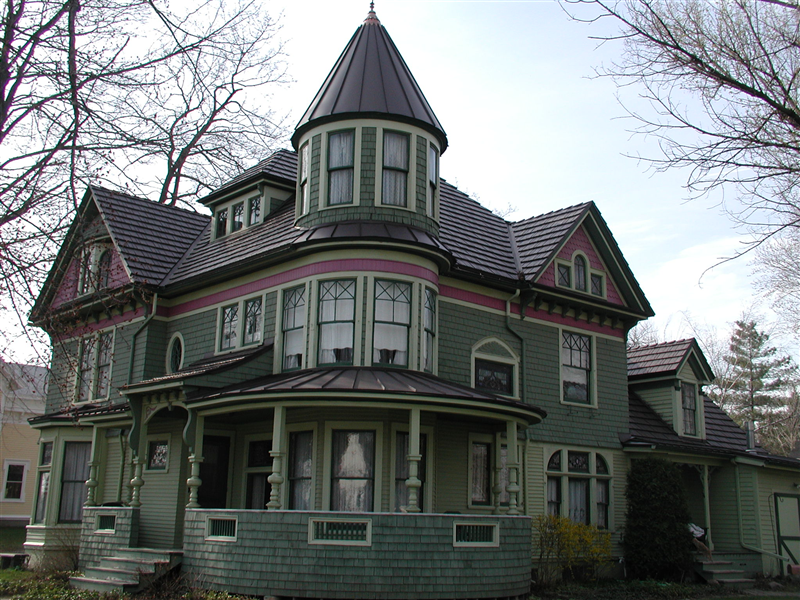 Best Beautiful Historical Victorian Home With Metal Shingle 400 x 300