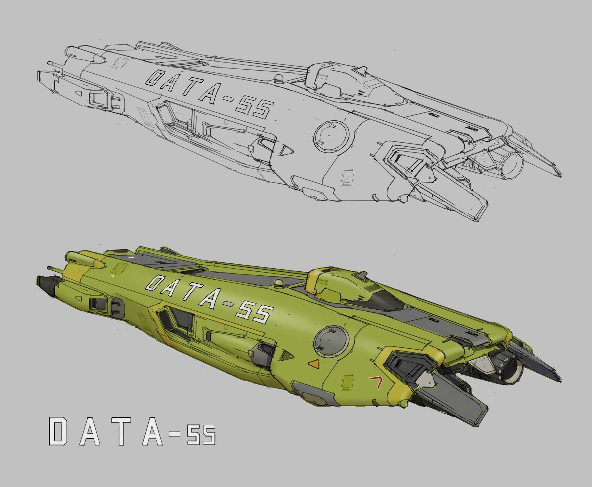ArtStation - DATA55 DOE, Steve Wang